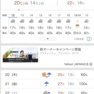 梅雨入りか……うぅっ