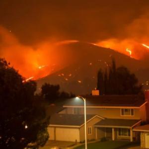 アメリカ子育て〜山火事と運動会