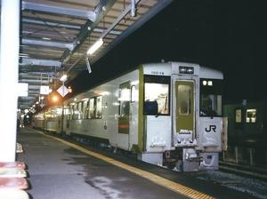 ローカル線である釜石線に乗ります