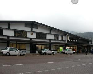 木曽福島で山の中の雰囲気を少しだけ