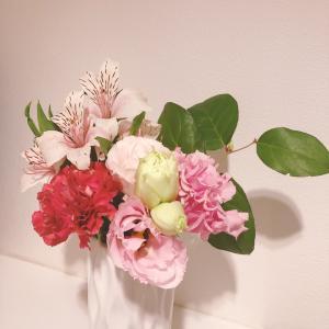 《お花の定期便》おうち時間を楽しむためにはじめてみました♡