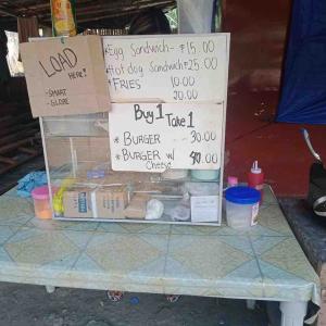 フィリピンでバーガーショップ開店、初日から売上目標達成‼️