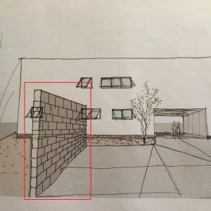 VE≠減額調整 第02話 駐車場のブロック壁