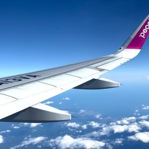 成田便のピーチエアは、空港第1ターミナルに戻ったので大注意。