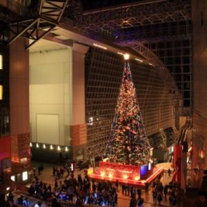 12/15京都駅のクリスマス