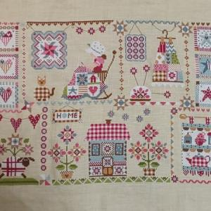 【QUILTING IN QUILT】完成しました