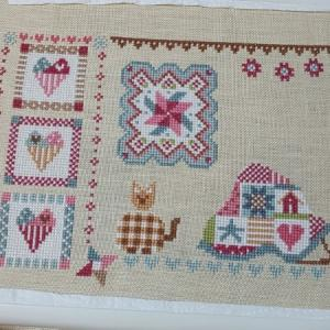【QUILTING IN QUILT】経過4