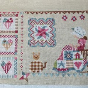 【QUILTING IN QUILT】経過5