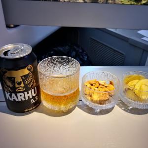 Day 1 (2食目→ヘルシンキに到着)