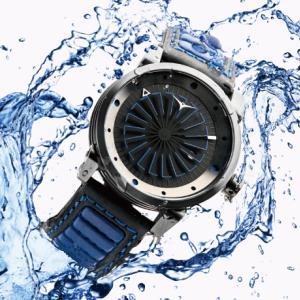 珍しいタービン型秒針の腕時計で個性を演出してみないか?【ZINVO(ジンボ)】