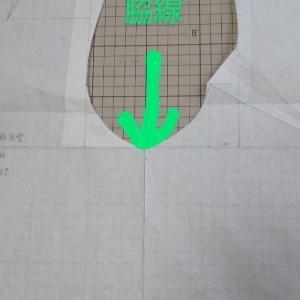 原型の脇線。