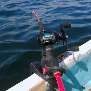 観音崎でボート釣り