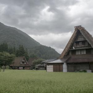 夏の終わりに白川郷・五箇山の合掌造り集落&下呂温泉に行ってきた話