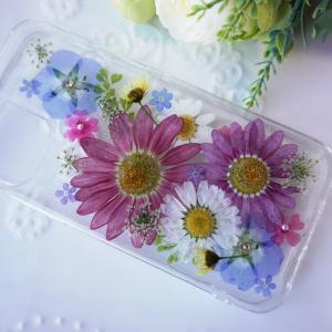 【youtube動画】押し花スマホケースの作り方Handmade/iPhone case