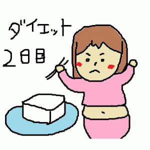 豆腐ダイエット2日目にして好転反応か