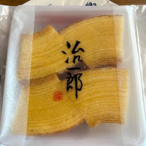 太るなら美味しいもので。日本一しっとりバームクーヘン