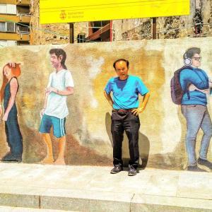 """Desde Barcelona"" 22/06/2020 (「バルセロナから」2020年6月22日) : La distancia social(ソーシャルディスタンス)"