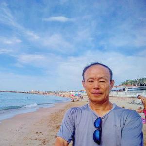 """Desde Barcelona"" 11/08/2020 (「バルセロナから」2020年8月11日) :  Realicé un viaje a pie completo en la ruta Barcelona-Sam Boi-Sitges 54km(バルセロナ~サン・ボイ~シッチェス54km完歩成就)"