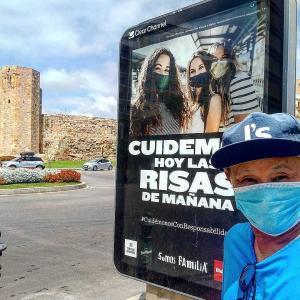 """Desde Barcelona""27/09/2020 (「バルセロナから」2020年9月27日) : Cuídemos hoy. Las risas de mañana(今日の日は気をつけよう。明日の笑顔のために)"
