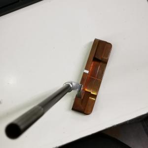 超高級パターもぶった切ってDEAD(汗) 99%純銅パターにCRAZY装着!!