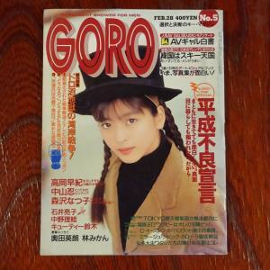 雑誌GOROの時代 その17 (1991年)