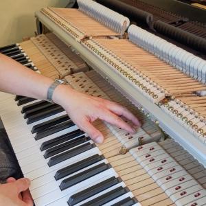 ピアノ直りました。