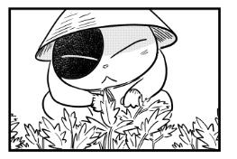 【漫画日誌】初めてのやくそう作り ヨモギ