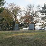 備中高松城   秀吉による水攻めの舞台となった有名な城址を自転車でのんびり散策