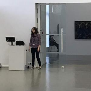 ジャン・フォートリエの技法 Jean Fautrier  NHK学園くにたちオープンスクール 春期定期講座「新しい表現にチャレンジ」