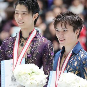 全日本フィギュアが終わって…。&オリンピックチケット、やっと当選!!