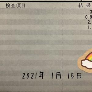 2021/01/15 病院へ参る :)