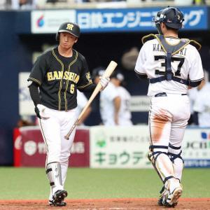 阪神・近本光司 .278(266-74) 5本 22打点 OPS.733