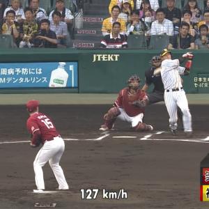 阪神・大山、2桁本塁打! 第10号先制3ランホームランキタ━━━━(゚∀゚)━━━━!!