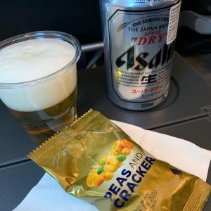 シンガポール航空の機内食。