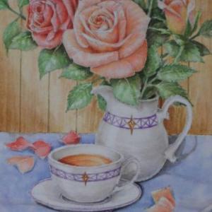バラと紅茶 1909
