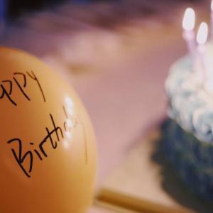 彼女の誕生日をお祝いしました~