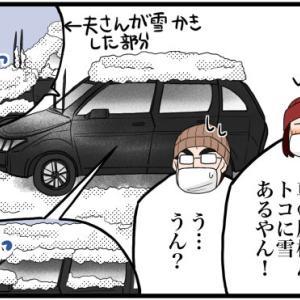 ちょびっと雪かき体験(関西人が雪を見たらテンション上がる)