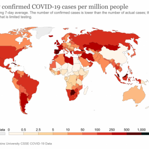 ワクチン接種が進んだ国の感染爆発から考える、日本の感染爆発グラフ