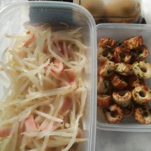 週末お弁当おかず作り。