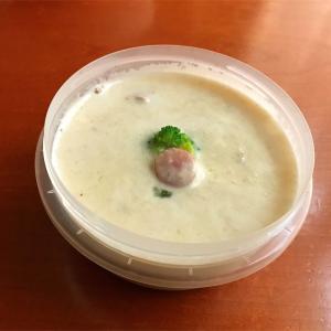 最近はまっているエノキのポタージュと10月8日 生姜焼き弁当
