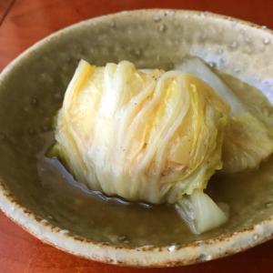 中華風のロール白菜 とおにぎり