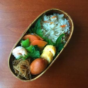2月18日 かやくご飯弁当 / かやくご飯とは方言だった!!