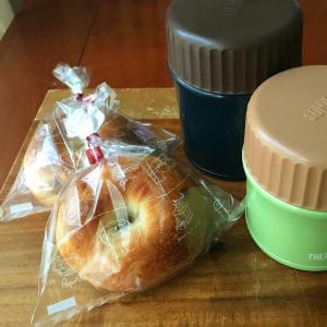 冷凍ハンバーグからのミートソース / 10月13日 パン弁当