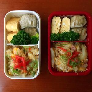 11月25日 焼き飯弁当 / 朝の夕飯準備