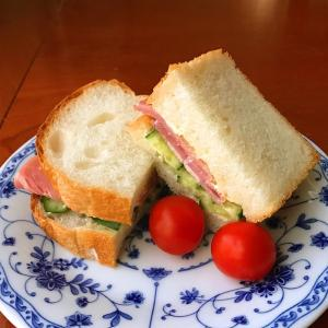 朝の5分サンドウィッチ / 朝ごはんのスタイル