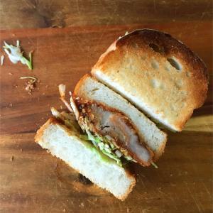 足りないと言われて二種類作ったサンドウィッチ
