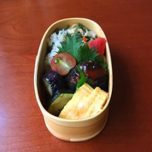 7月9日 山菜おこわ弁当と簡単メニューのポン鶏ナス弁当 / アメトピ?