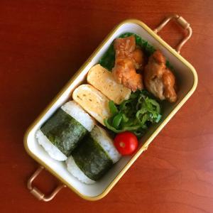 8月27日 鶏のテリヤキ弁当/ 娘の友達のサプライズ 大成功