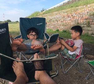 会社の人たちの最初で最後の夏のデイキャンプ
