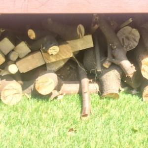 薪を割る何かが欲しい